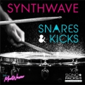 pack snares kicks synthwave
