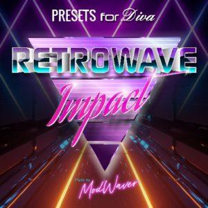 Diva Synth presets - Retrowave Impact by Modwaver