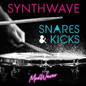 Synthwave Snares and Kicks by Modwaver