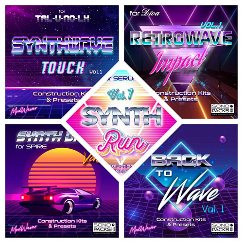 presets pour synthétiseur synthwave retrowave synthpop