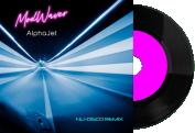 pochette disque electro synthwave