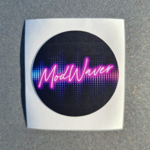 sticker autocollant modwaver disco