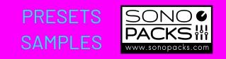sonopacks presets synth samples